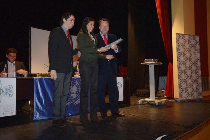 alcalde entrega premio