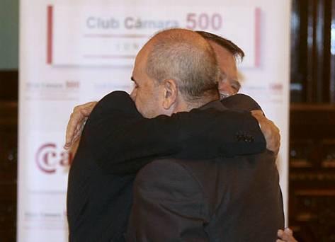 Chaves y Monteseirín se han apoyado mutuamente hasta el final
