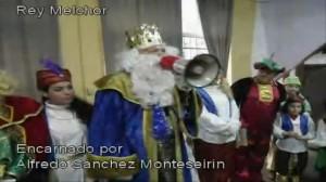 Vídeo en Youtube informando de que Monteseirín fue Melchor en el Cerro
